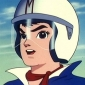 Speed Racer played by Peter Fernandez