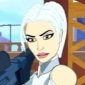 Silver Sable played by Virginia Madsen