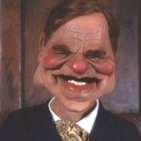 Jeffrey Archer Spitting Image (UK)