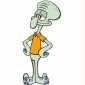 Squidward played by Rodger Bumpass