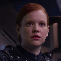 Cadet Sylvia Tilly played by