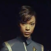 First Officer Michael Burnham played by