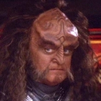 Chancellor Gowron played by Robert O'Reilly