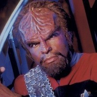 Lieutenant Commander Worf played by Michael Dorn