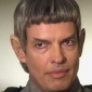 Vulcan Ambassador Soval played by Gary Graham