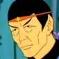 Aged Mister Spock Star Trek: The Animated Series