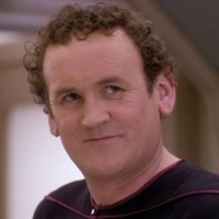 Chief Miles O'Brien played by Colm Meaney