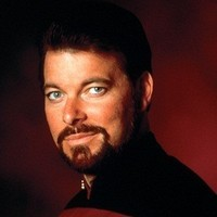 Commander William T. Rikerplayed by Jonathan Frakes