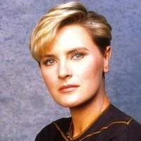 Lieutenant Tasha Yar played by Denise Crosby