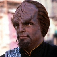 Lieutenant Worf played by Michael Dorn