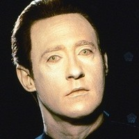 Lieutenant Commander Data played by Brent Spiner