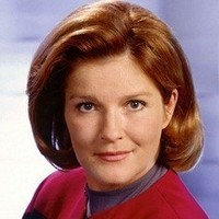 Captain Kathryn Janeway played by Kate Mulgrew