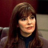 Counsellor Deanna Troi played by Marina Sirtis