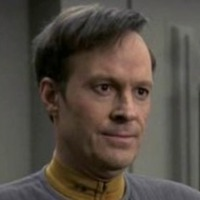 Lieutenant Reginald 'Reg' Barclay played by Dwight Schultz