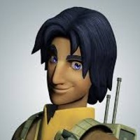 Ezra Bridger played by Taylor Gray