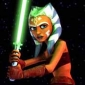 Ahsoka Tano played by Ashley Eckstein