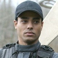 Lt. Aiden Ford played by Rainbow Francks