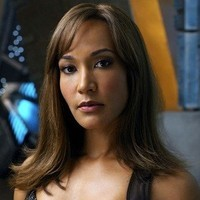 Teyla Emmagan played by Rachel Luttrell
