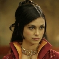 Adria played by Morena Baccarin
