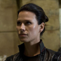 Commander Kiva  played by Rhona Mitra
