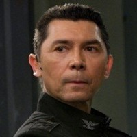 Col. David Telford played by Lou Diamond Phillips