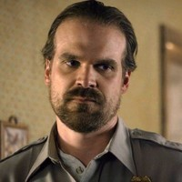 Jim Hopper played by David Harbour