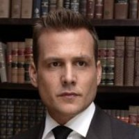 Harvey Specter played by Gabriel Macht