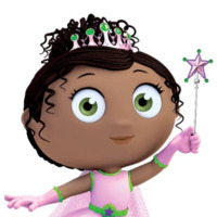 Princess Pea played by Tajja Isen