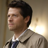 Castiel played by Misha Collins