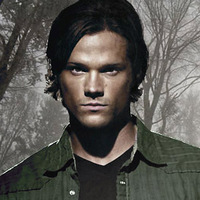 Sam Winchester played by Jared Padalecki