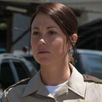 Sheriff Jody Mills played by Kim Rhodes