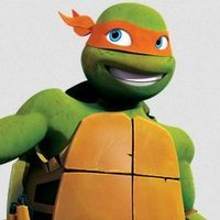 Michelangelo played by Greg Cipes