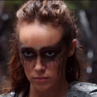 Lexa played by Alycia Debnam-Carey