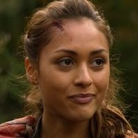 Raven Reyes played by Lindsey Morgan