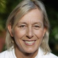 Martina Navratilova played by Martina Navratilova