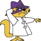 Secret Squirrel played by Mel Blanc