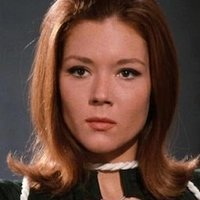 Emma Peel played by Diana Rigg