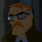 Commissioner James Gordon played by Mitch Pileggi