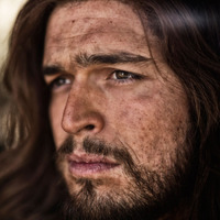 Jesus Christ played by Diogo Morgado