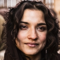 Mary Magdalene played by Amber Rose Revah