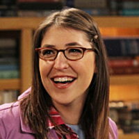 Amy Farrah Fowler played by Mayim Bialik