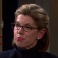 Beverly Hofstadter played by Christine Baranski