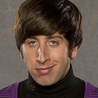 Howard Wolowitz played by Simon Helberg