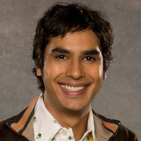 Raj Koothrappali played by Kunal Nayyar