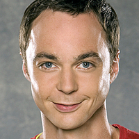 Sheldon Cooper played by Jim Parsons