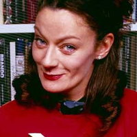 Janice McCann played by Michelle Gomez