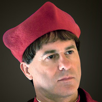 Cardinal Ascanio Sforza played by Peter Sullivan (III)