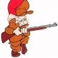 Elmer Fudd played by Arthur Q. Bryan