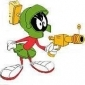 Marvin the Martian played by Mel Blanc