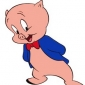 Porky Pig played by Mel Blanc